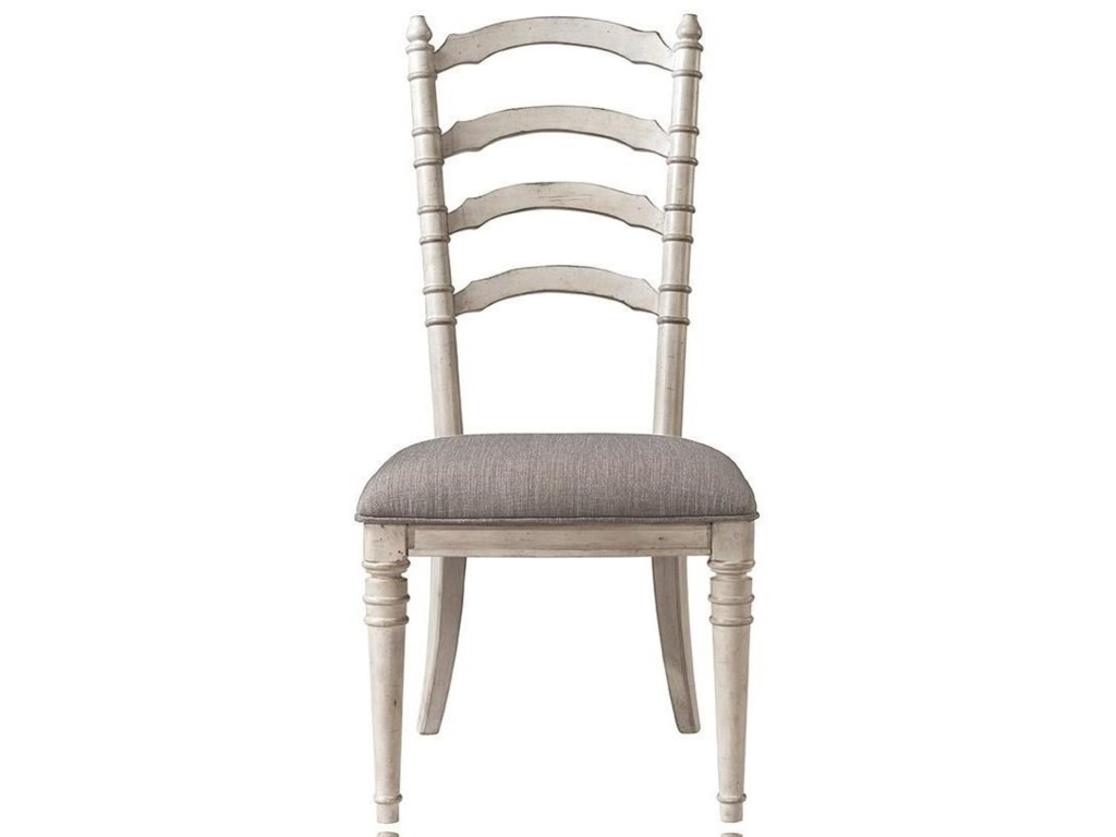 Riverside Furniture ElizabethUpholstered Ladderback Side Chair