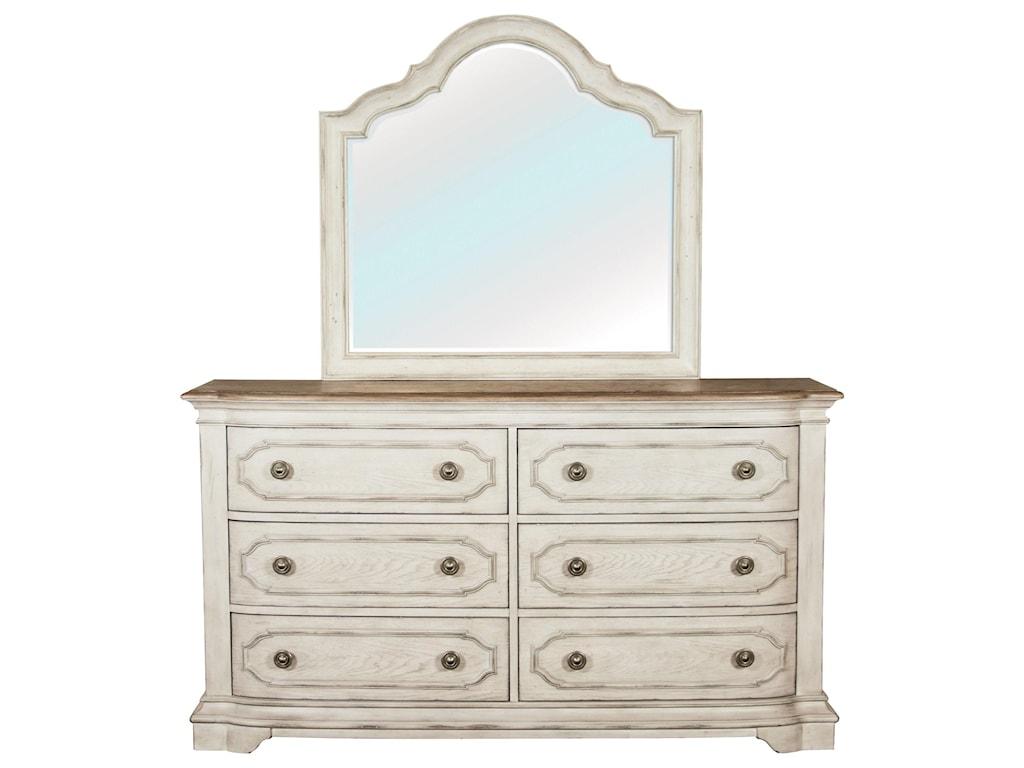 Riverside Furniture ElizabethMirror
