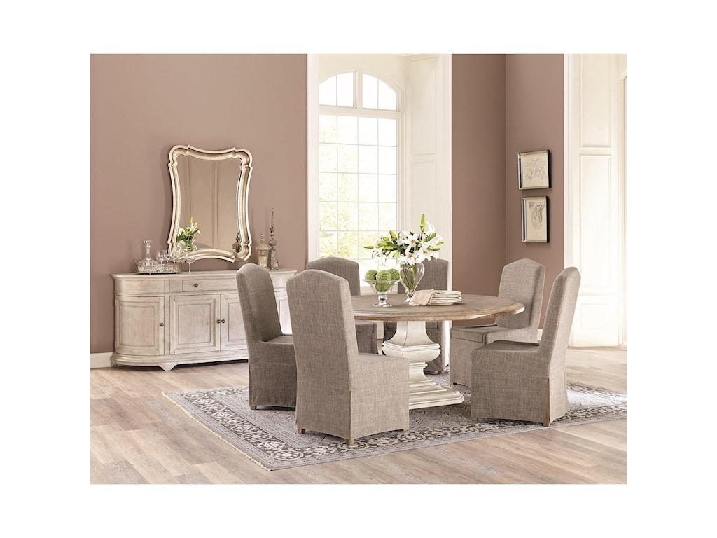Riverside Furniture ElizabethUpholstered Host Chair