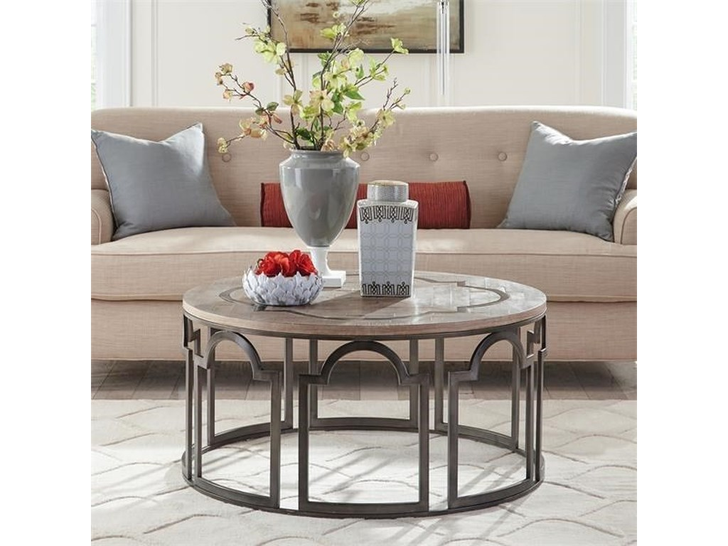 Riverside Furniture EstelleRound Cocktail Table