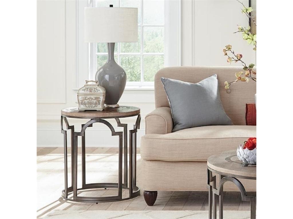 Riverside Furniture EstelleRound End Table