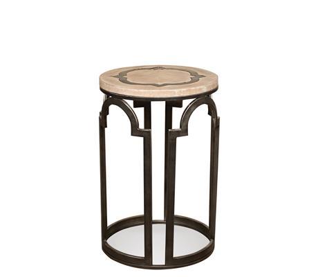 Riverside Furniture Estelle Round Chairside Table