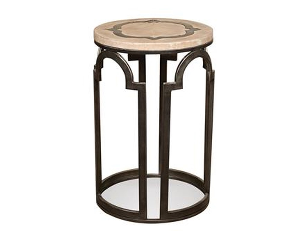 Riverside Furniture EstelleRound Chairside Table