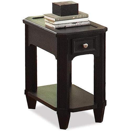 Riverside Furniture Farrington 1 Drawer Chairside Table