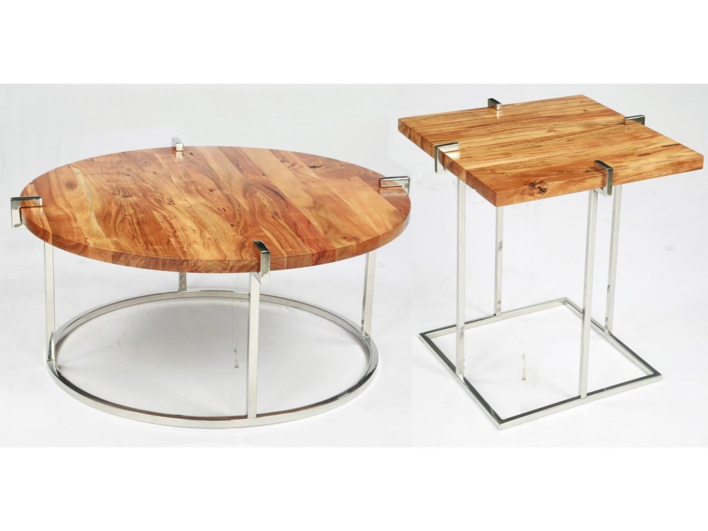 Riverside Furniture ForresterSquare End Table