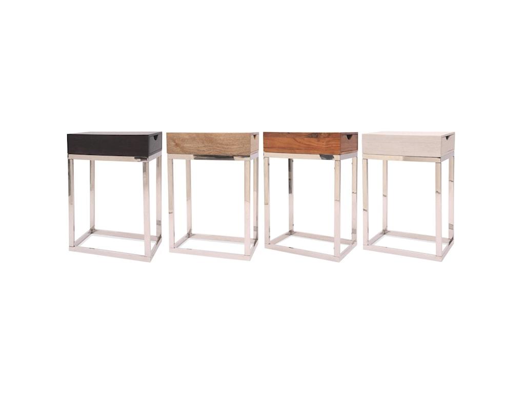 Riverside Furniture GardnerChairside Table