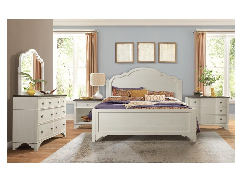 Grand Haven Queen Bedroom Group by Riverside Furniture at Furniture Mart  Colorado