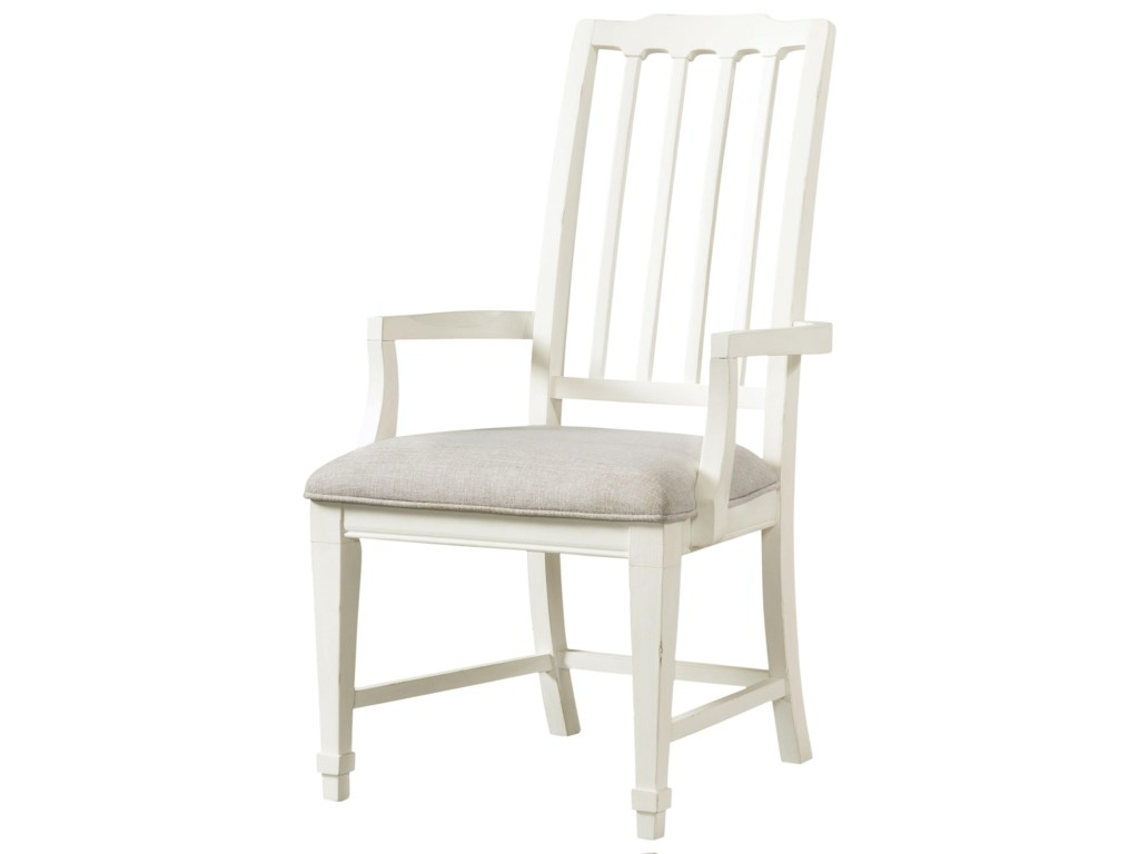 Riverside Furniture Grand HavenArm Chair Slat Uph