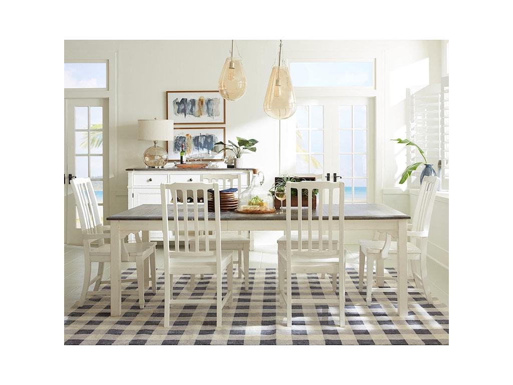 Riverside Furniture Grand HavenArm Chair Slat