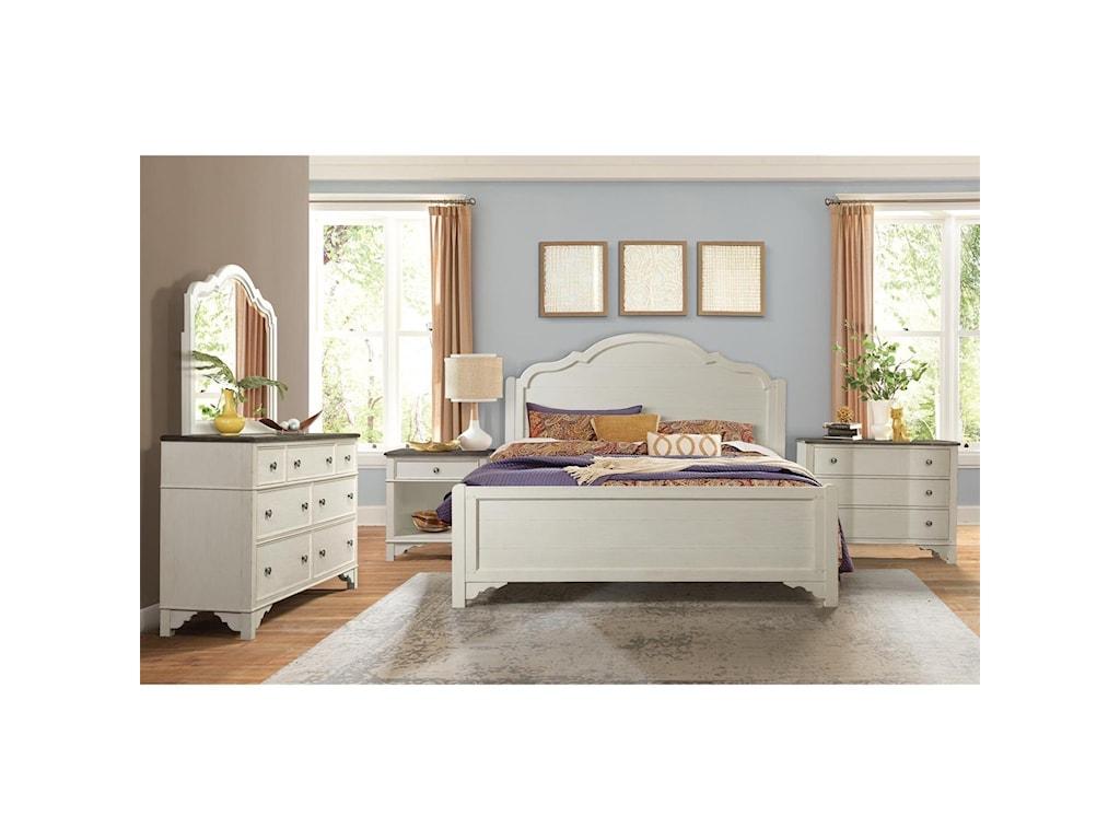 Riverside Furniture Grand HavenKing Panel Bed