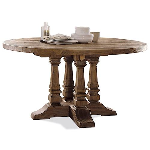 Riverside Furniture Hawthorne Round Pedestal Dining Table