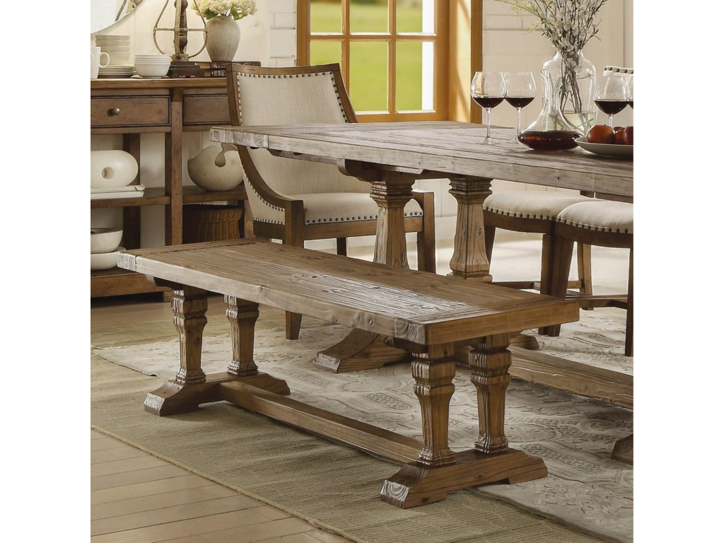 Riverside Furniture HawthorneDining Bench