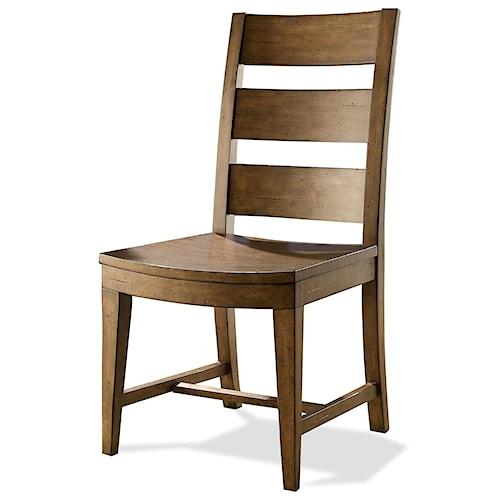 Riverside Furniture Hawthorne Slat Back Side Chair