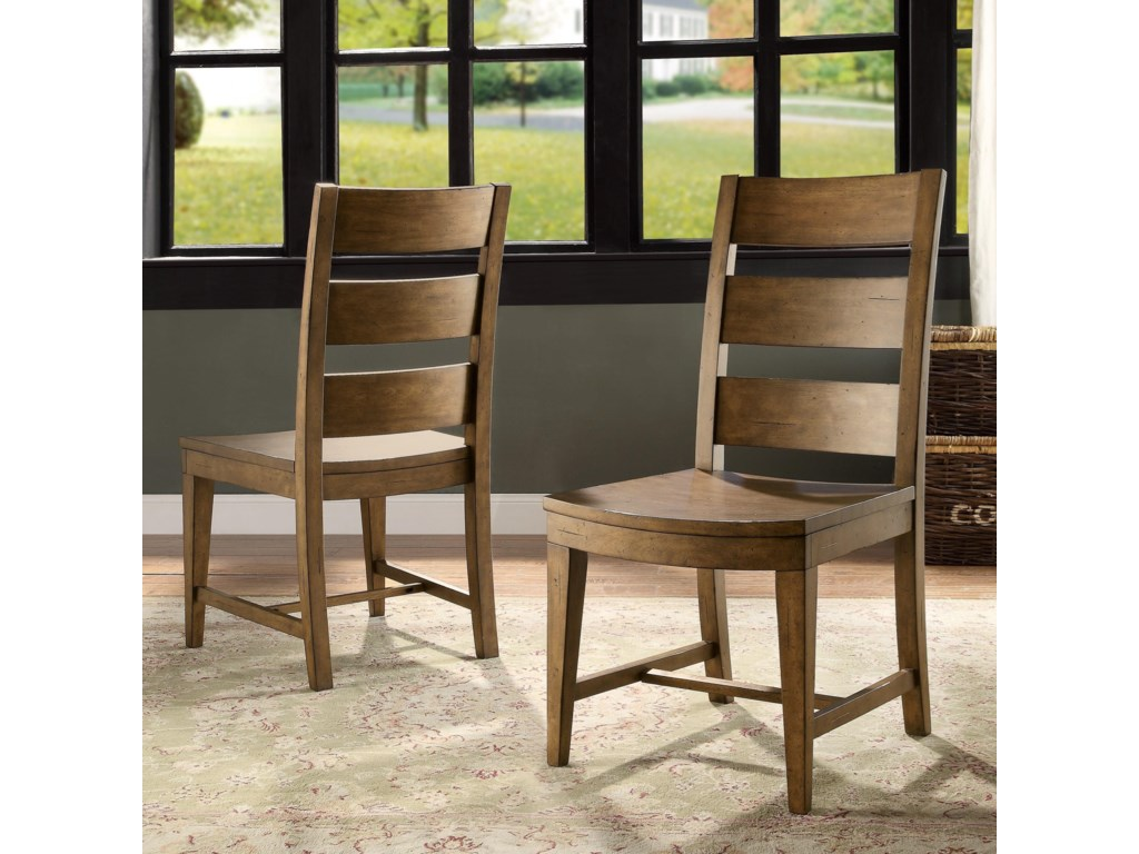Riverside Furniture HawthorneSlack Back Side Chair