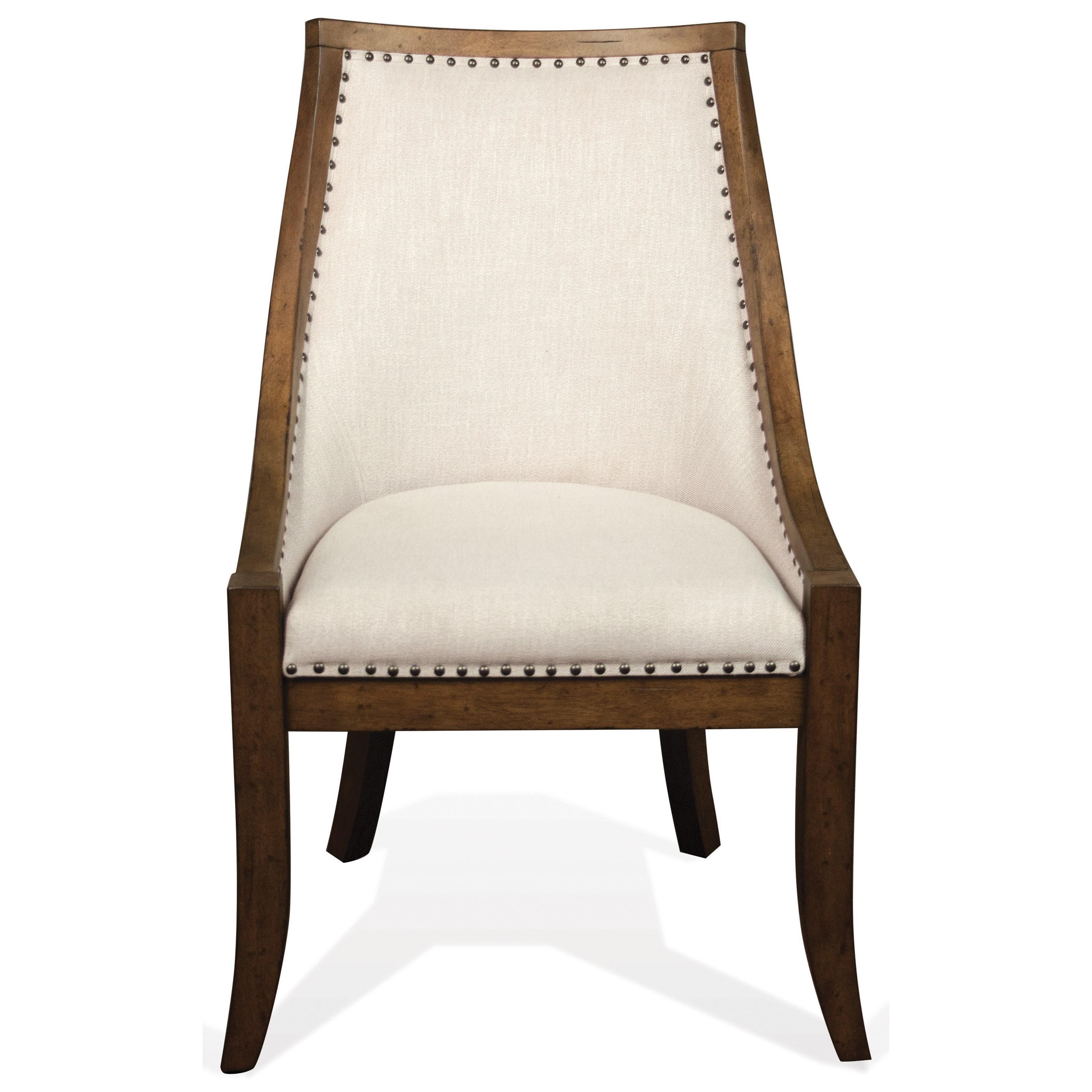 Riverside Furniture HawthorneUpholstered Hostess Chair ...