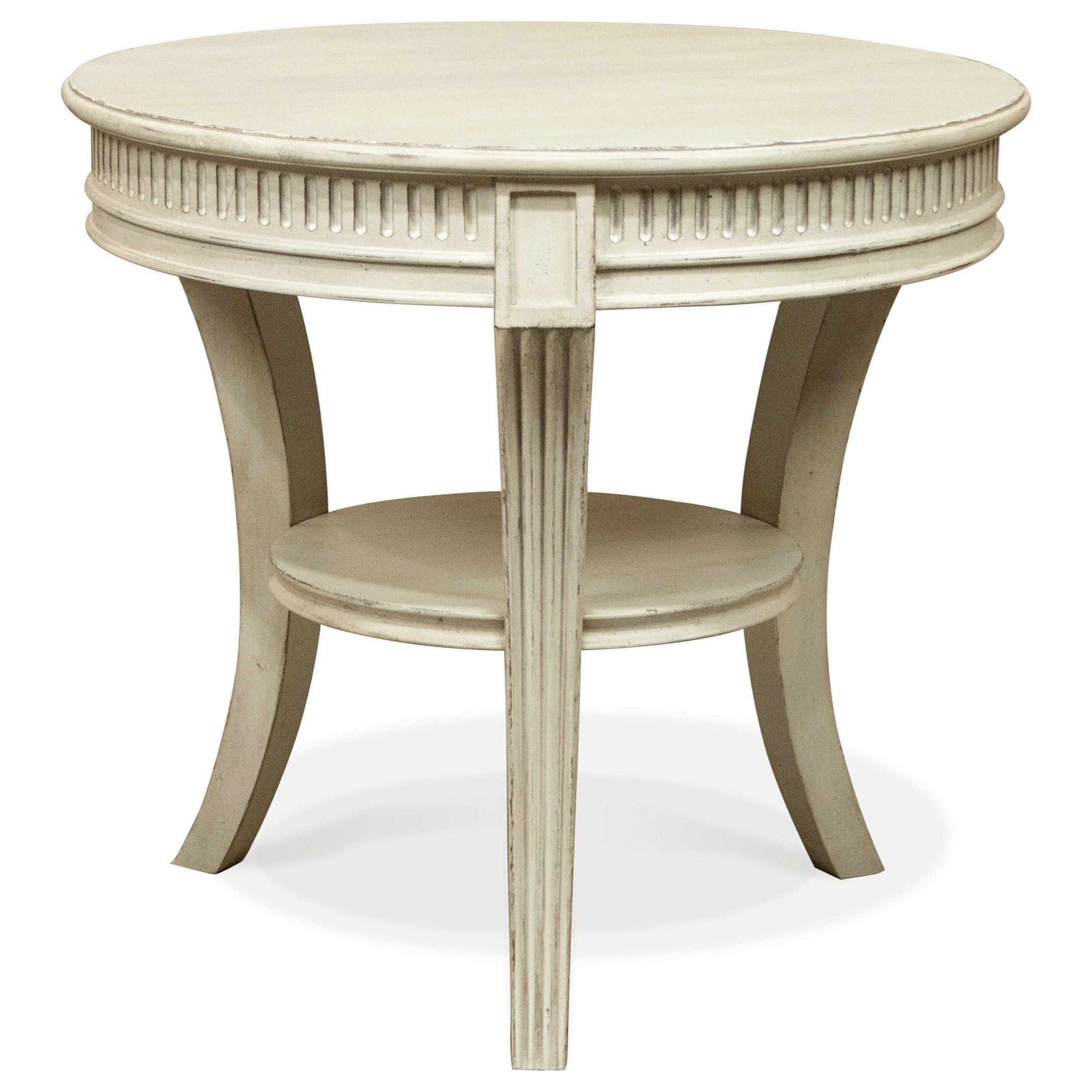 Merveilleux Riverside Furniture HuntleighRound End Table ...