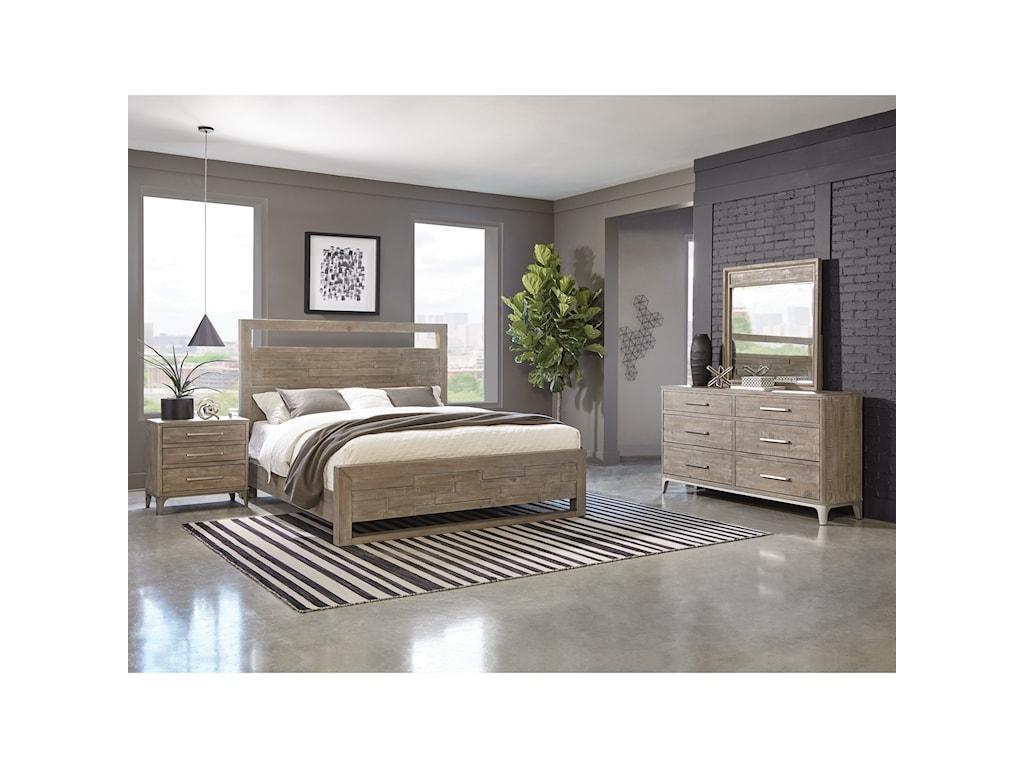 Riverside Furniture IntrigueDresser and Mirror Set