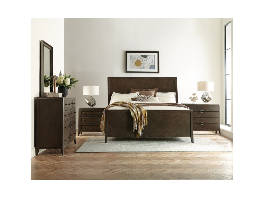 Riverside Furniture JoelleCalifornia King Bedroom Group