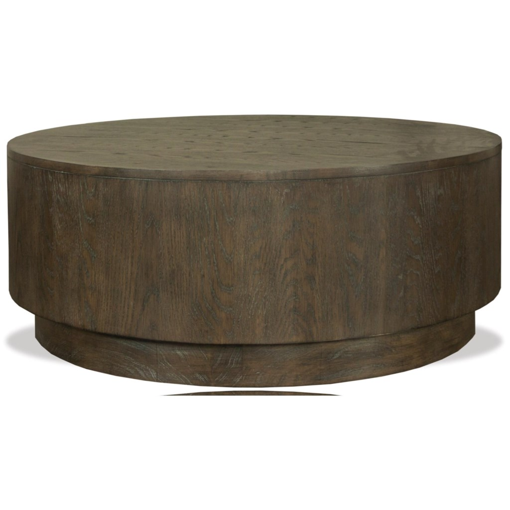 Riverside Furniture Joelle Round Cocktail Table With Removable