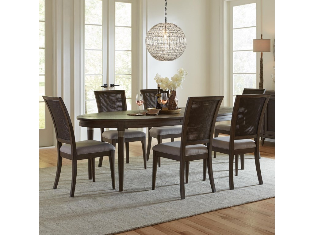 Riverside Furniture Joelle7 Piece Table and Chair Set