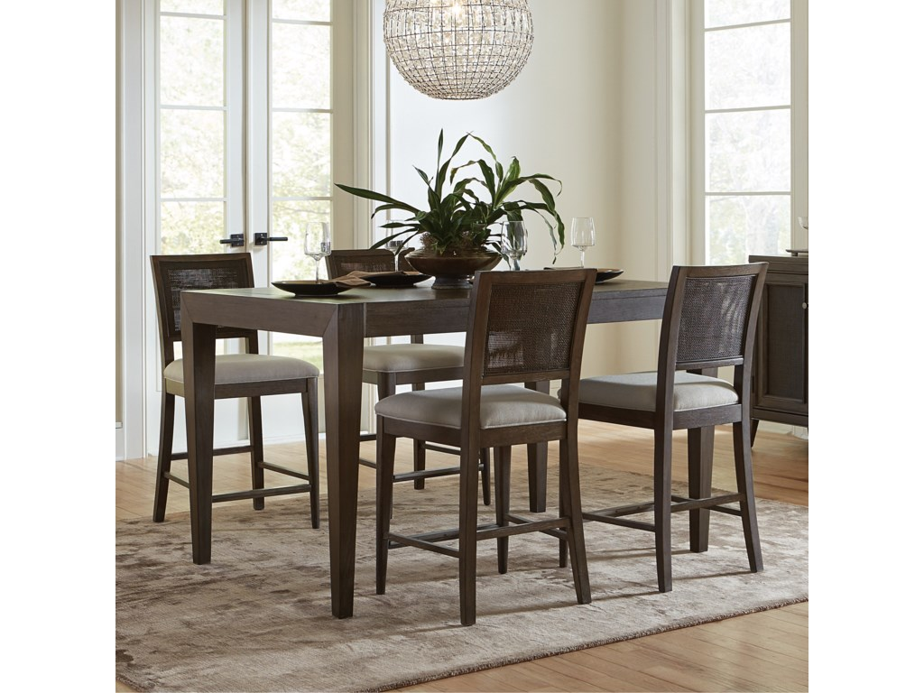 Riverside Furniture Joelle5 Piece Gathering Table and Chair Set