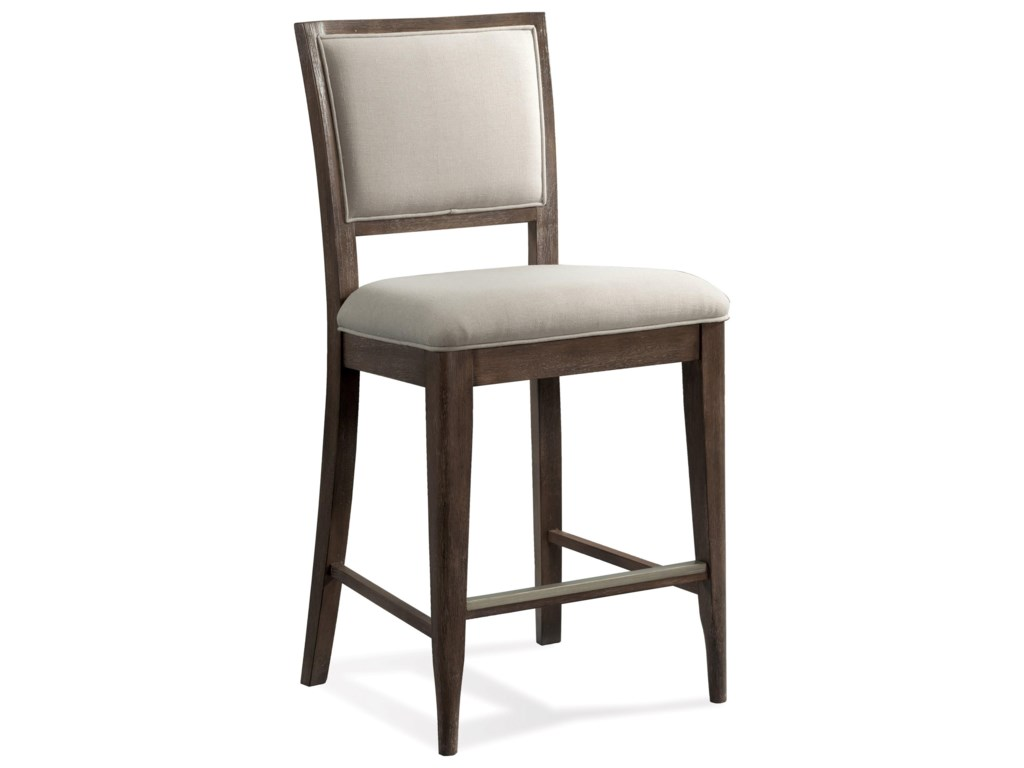 Riverside Furniture JoelleUpholstered Gathering Height Chair