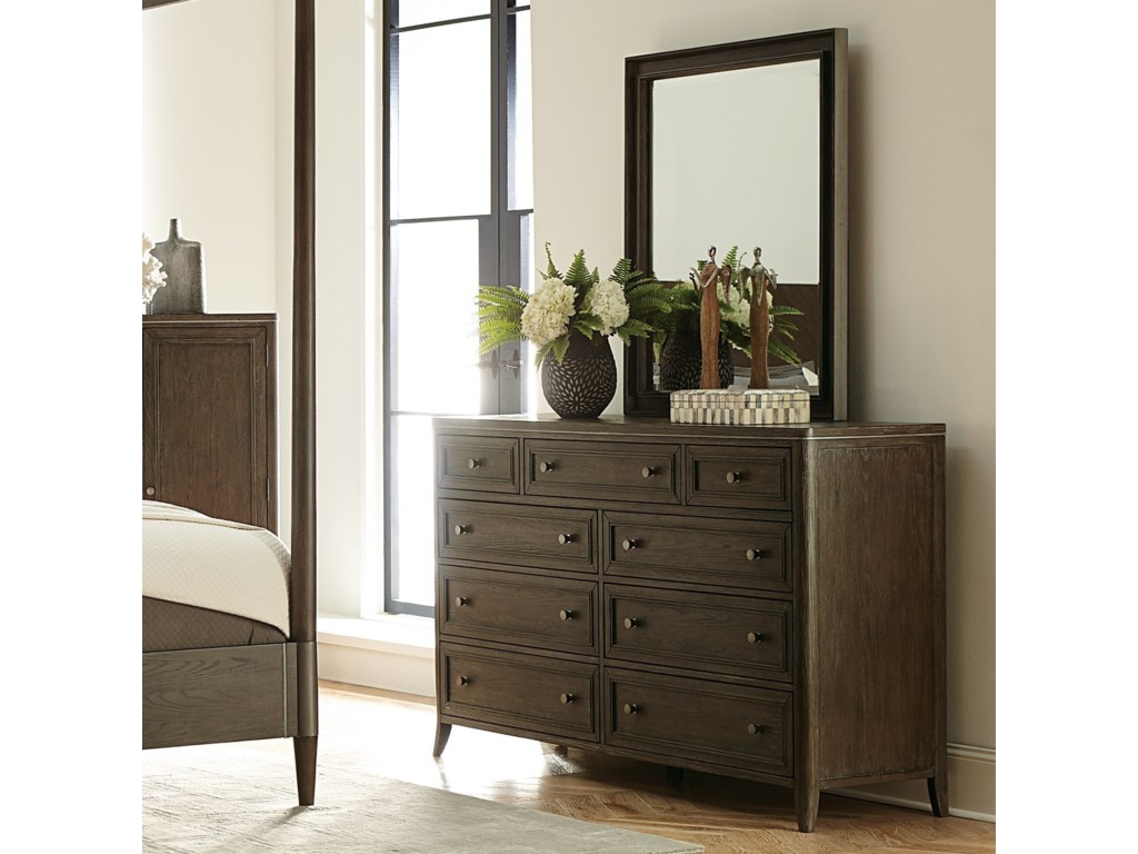 Riverside Furniture JoelleDresser and Mirror Combo