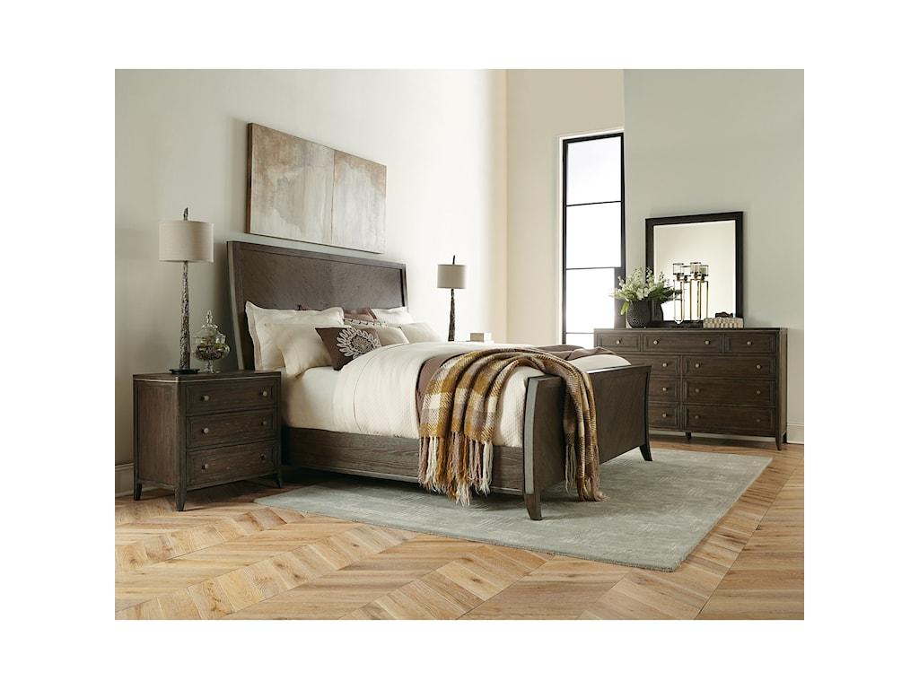 Riverside Furniture JoelleKing Sleigh Bed