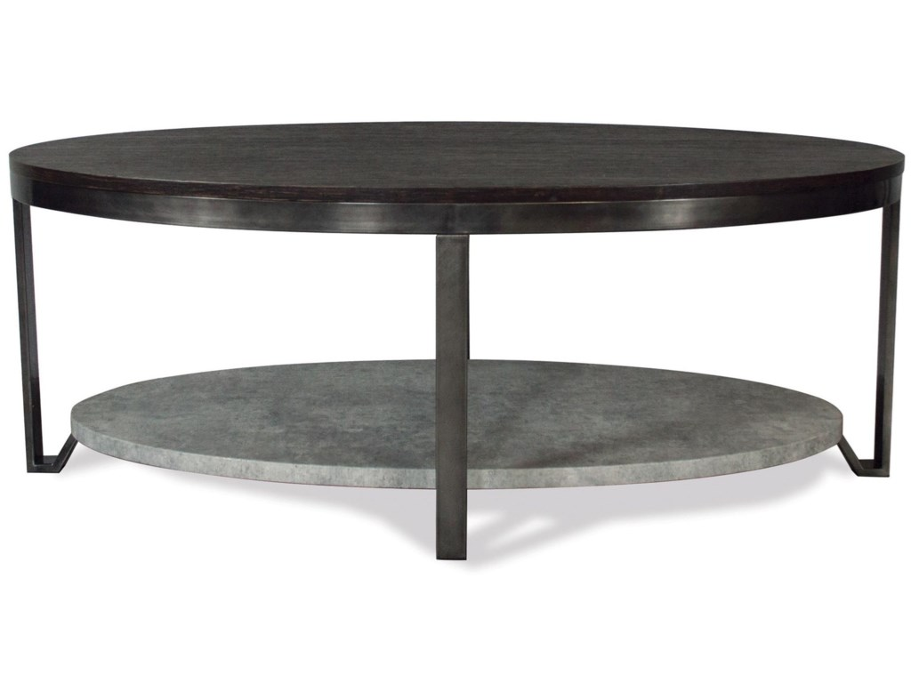Riverside Furniture JudeOval Cocktail Table