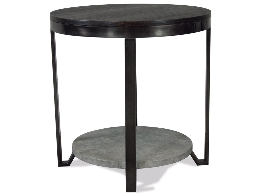 Riverside Furniture JudeRound End Table