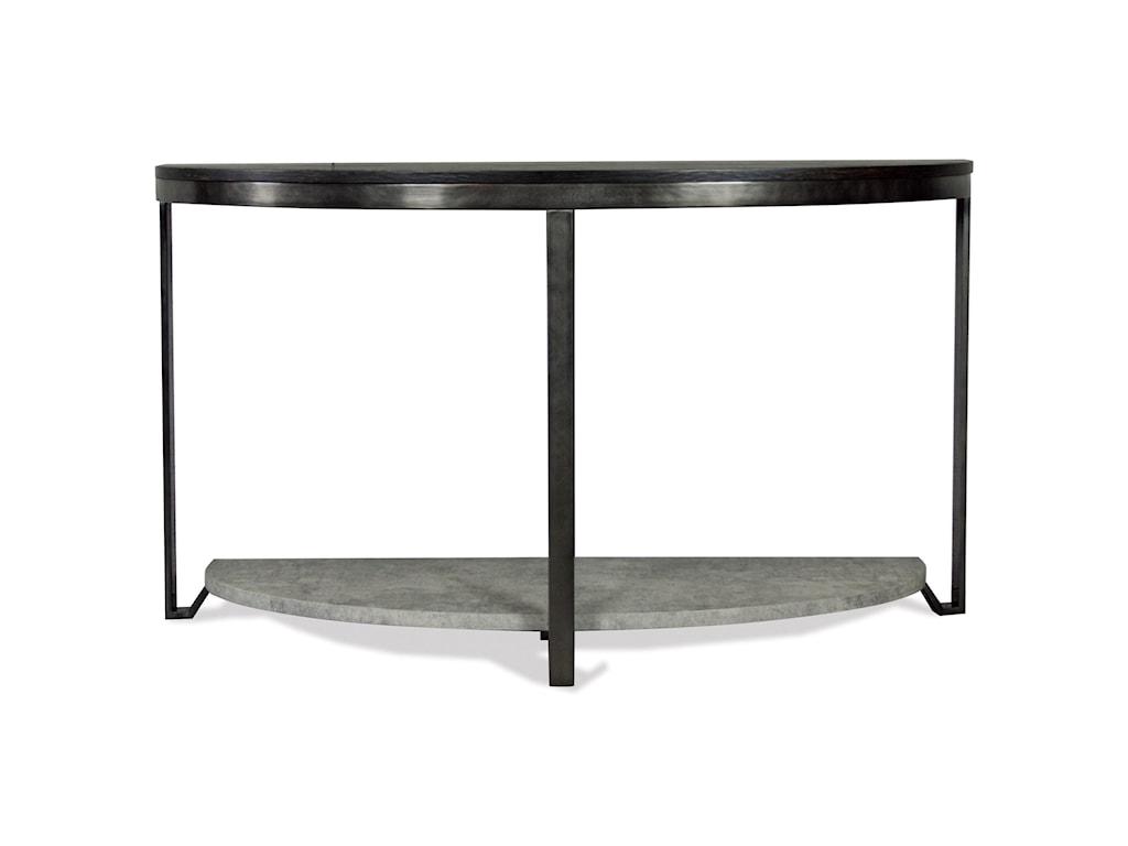Riverside Furniture JudeDemilune Sofa Table