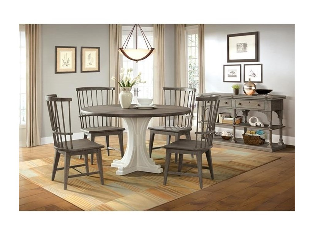 Riverside Furniture Juniper Casual Dining Room Group Colder S