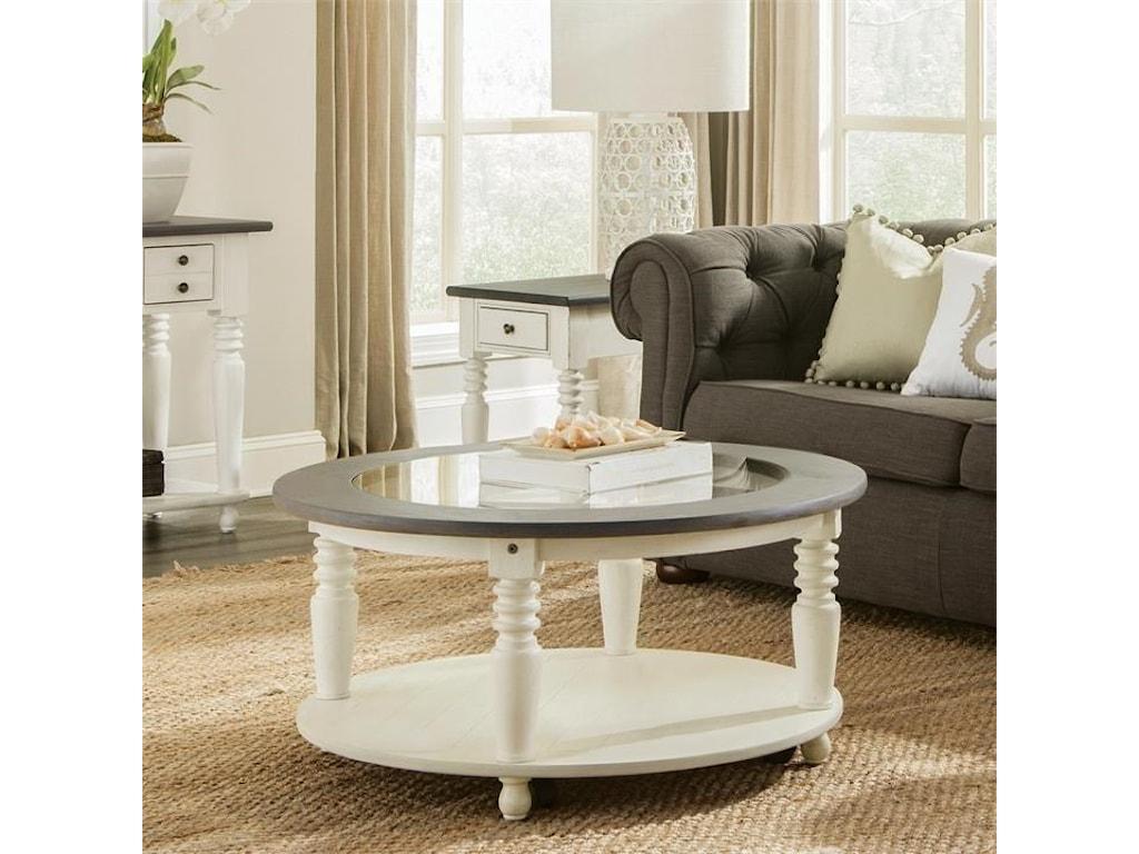 Riverside Furniture JuniperRound Cocktail Table