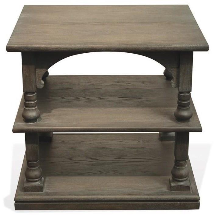 Riverside Furniture JuniperRectangle End Table ...