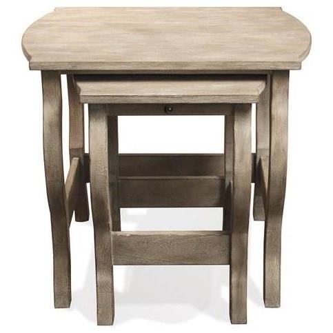 Riverside Furniture JuniperNesting End Tables ...