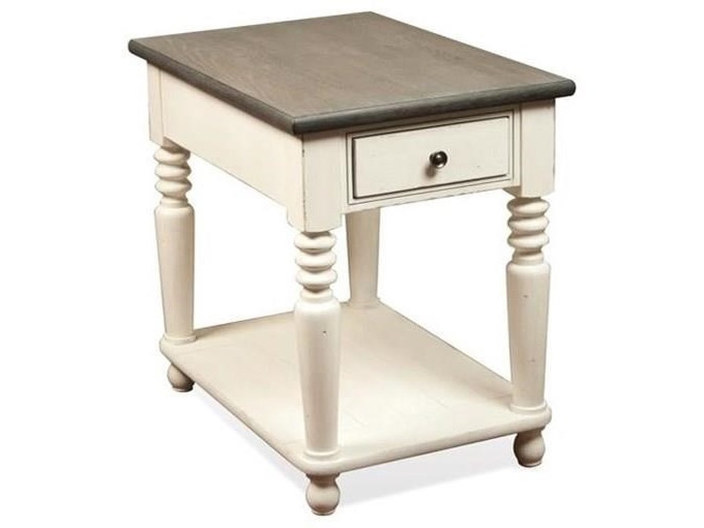 Riverside Furniture JuniperRectangle Chairside Table