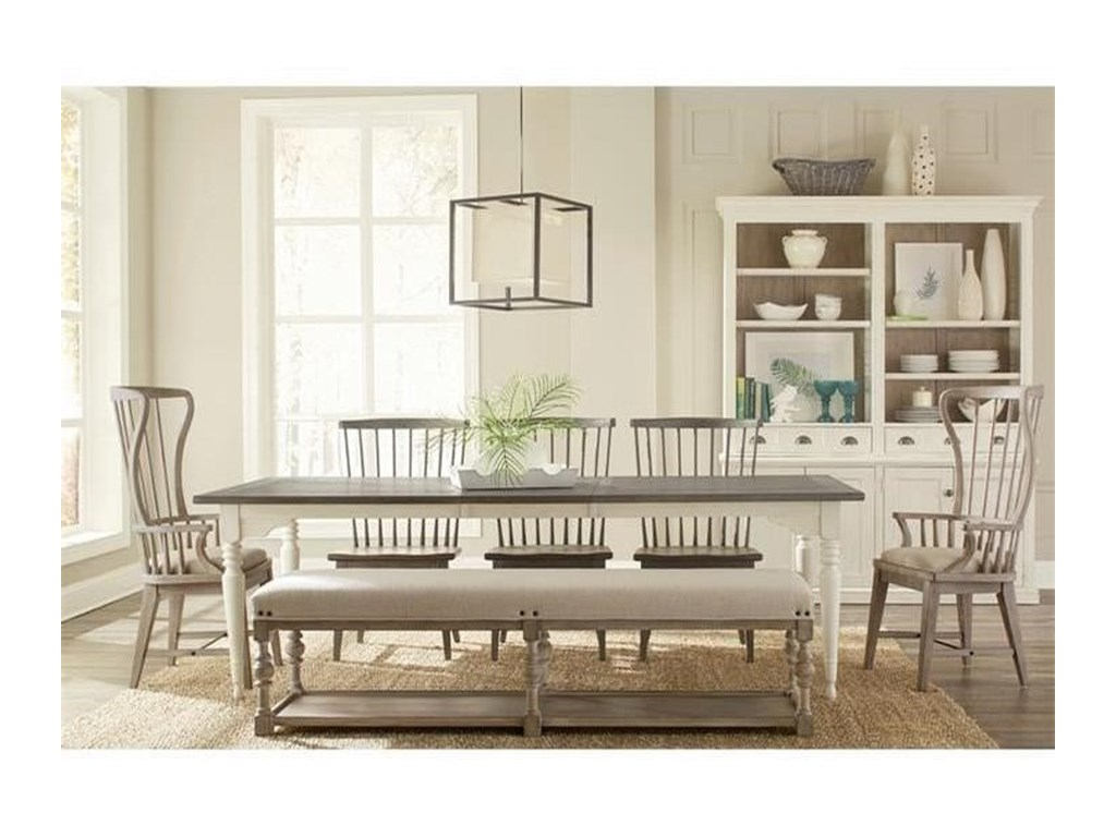 Riverside Furniture JuniperLeg Dining Table