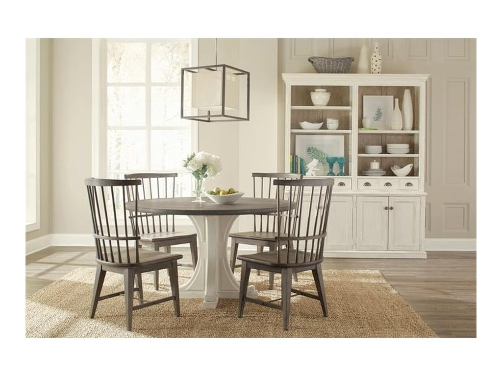 Riverside Furniture JuniperRound Pedestal Dining Table