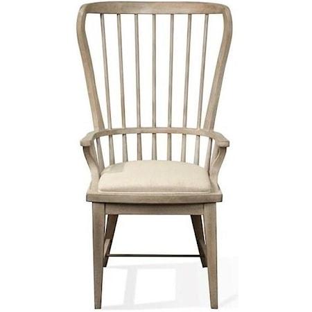 Windsor Upholstered Host Chair