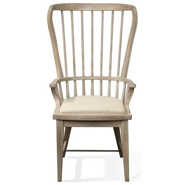 Riverside Furniture JuniperWindsor Upholstered Host Chair ...