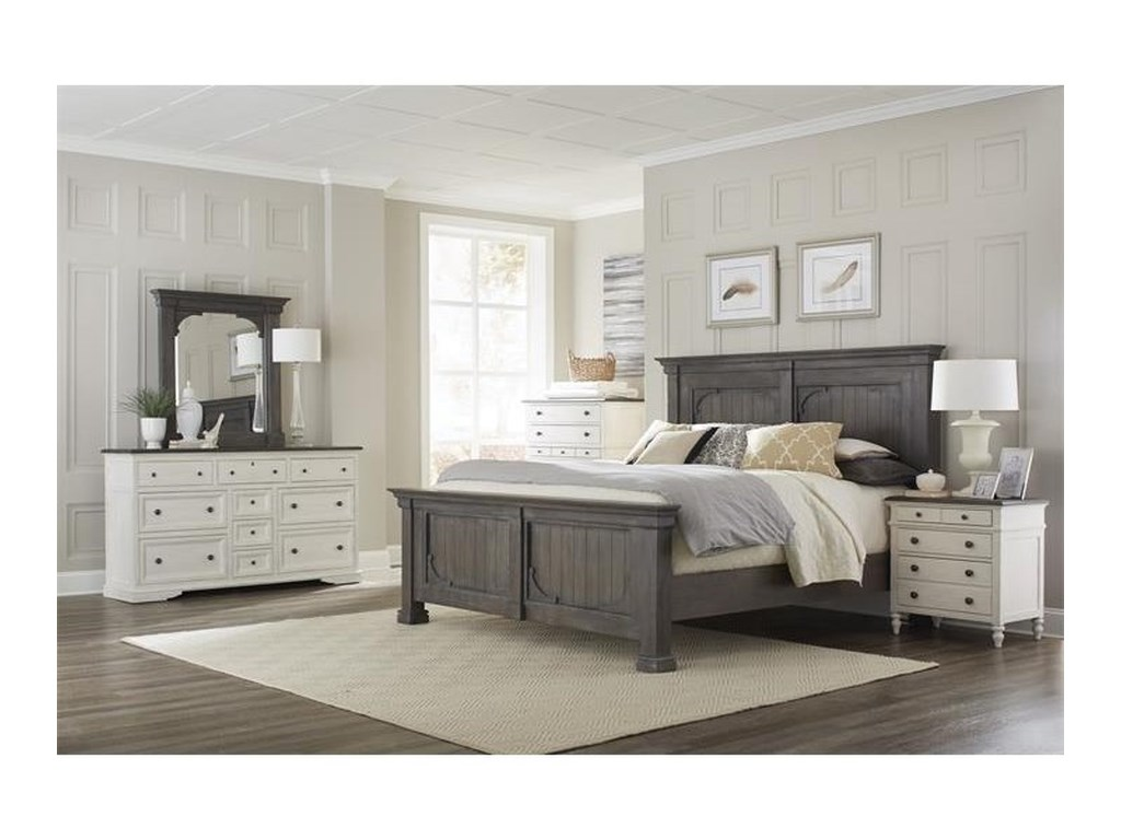 Riverside Furniture JuniperQueen Panel Bed