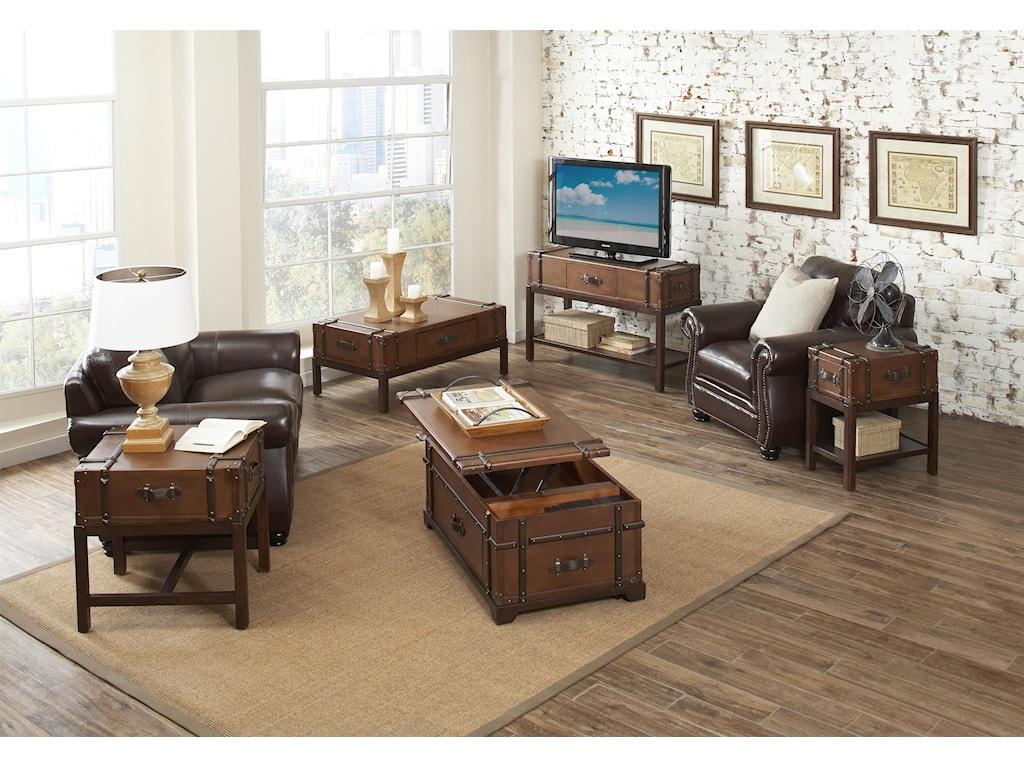 Riverside Furniture LatitudesEnd Table