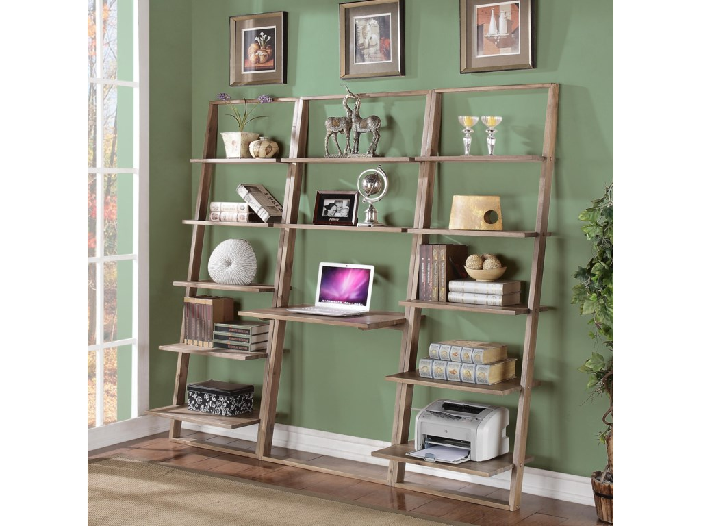 Riverside Furniture Lean LivingLeaning Bookcase