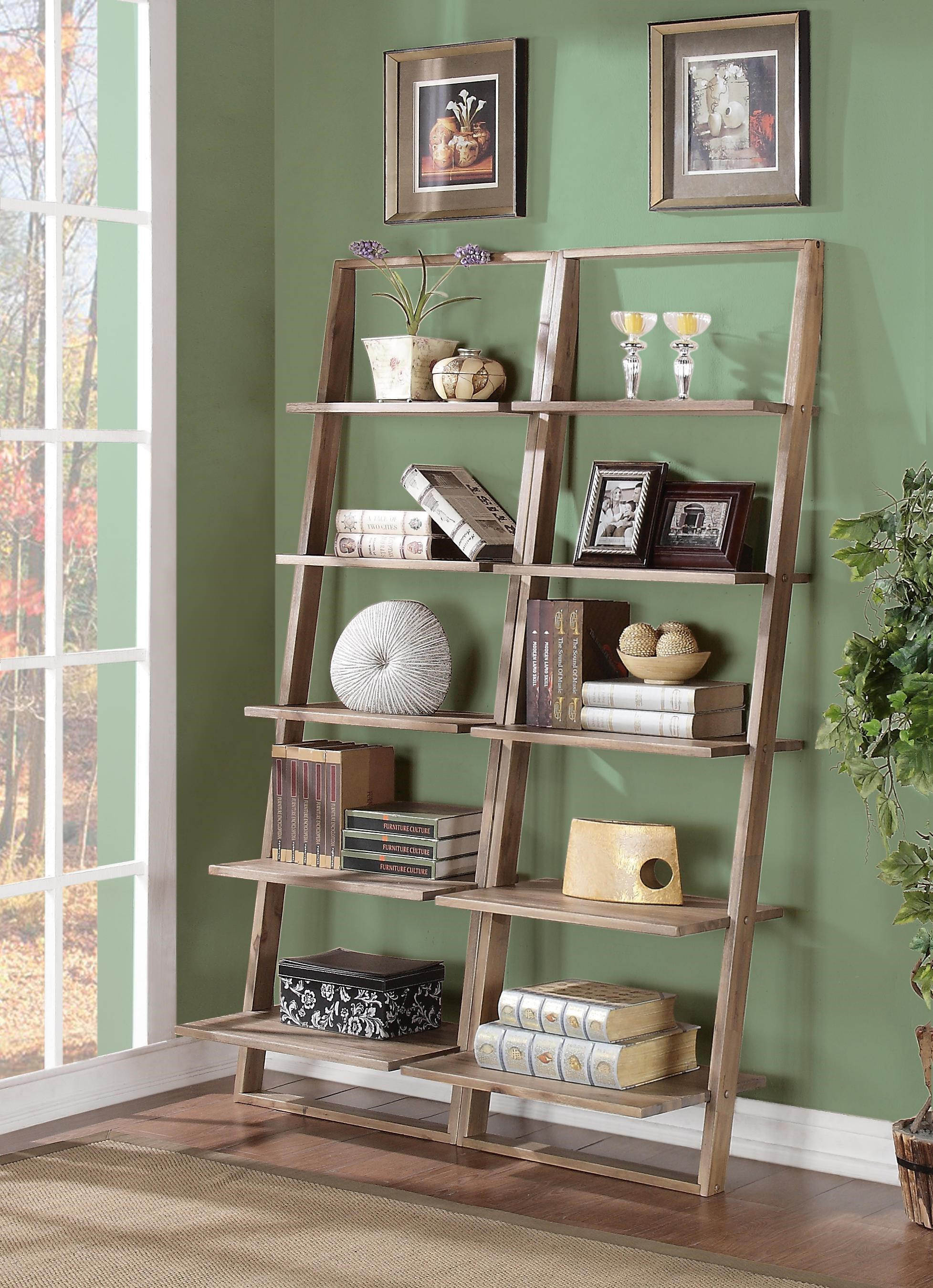 Riverside Furniture Lean LivingLeaning Bookcase Set ...