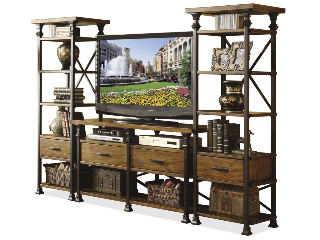Shown in Set of 2 with TV Console