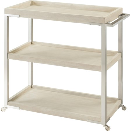 Tray-Top Bar Cart