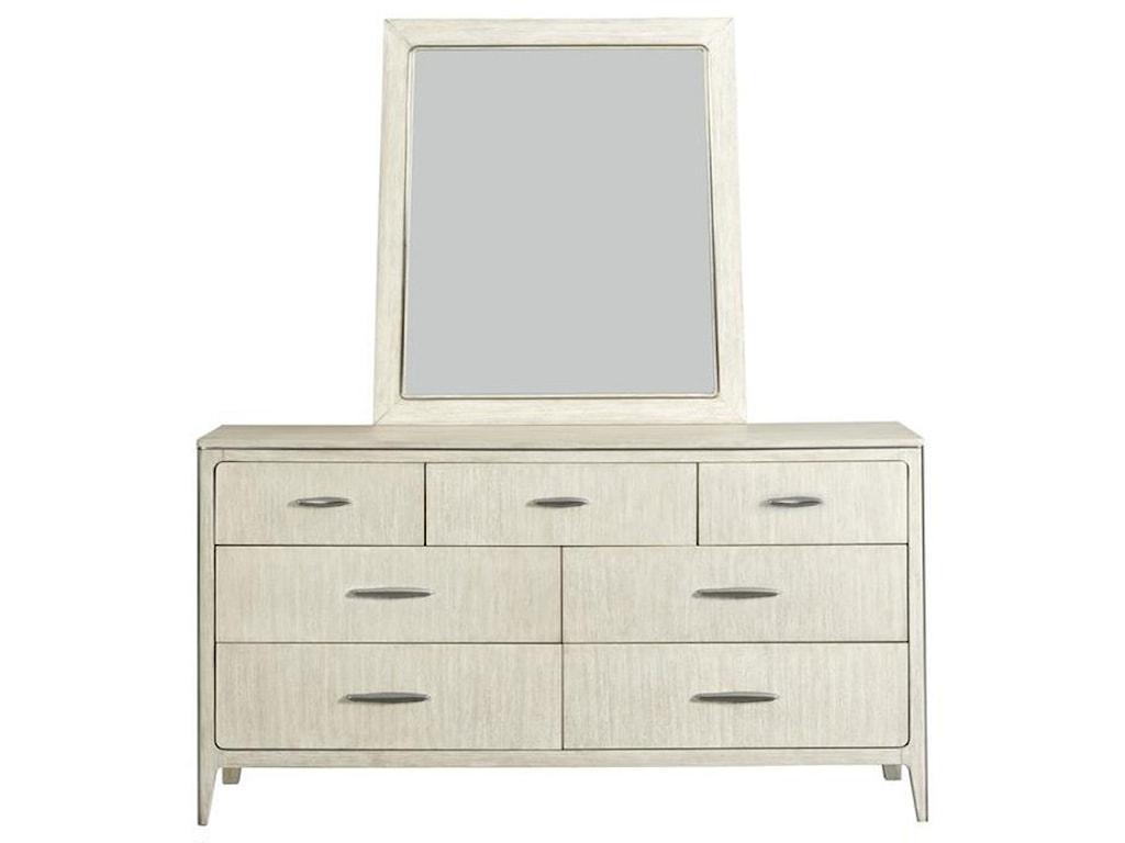 Riverside Furniture LillyDresser and Mirror Set