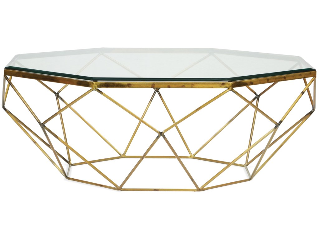 Riverside Furniture LucentioOctagon Coffee Table