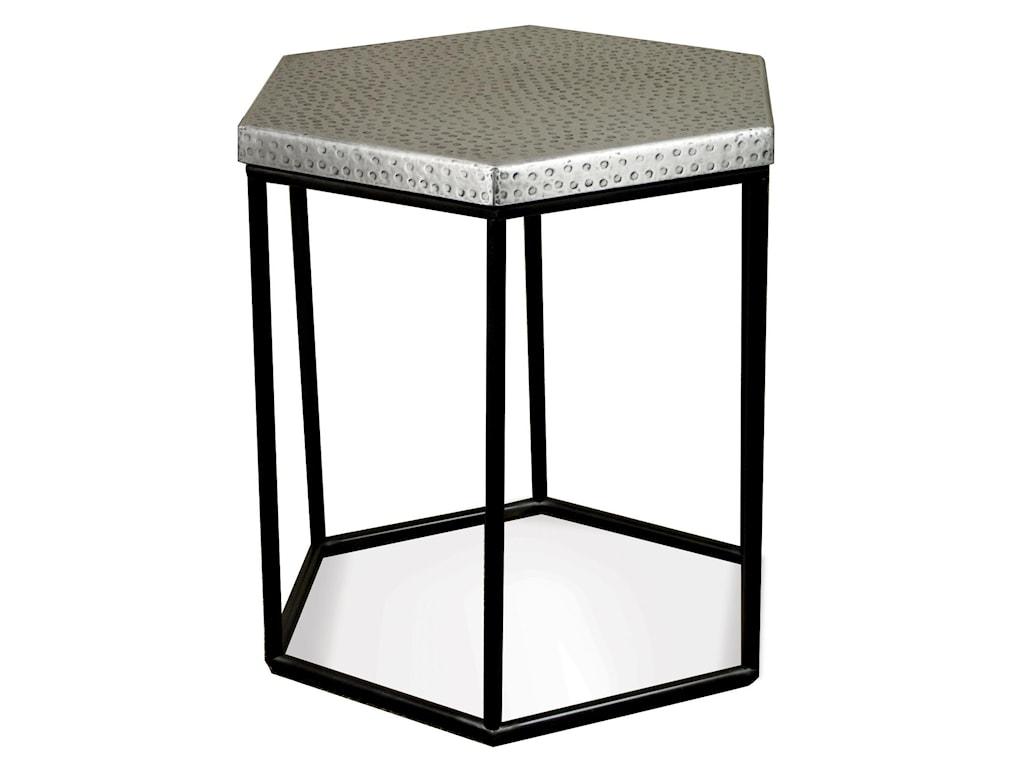 Riverside Furniture LyricHexagon Side Table