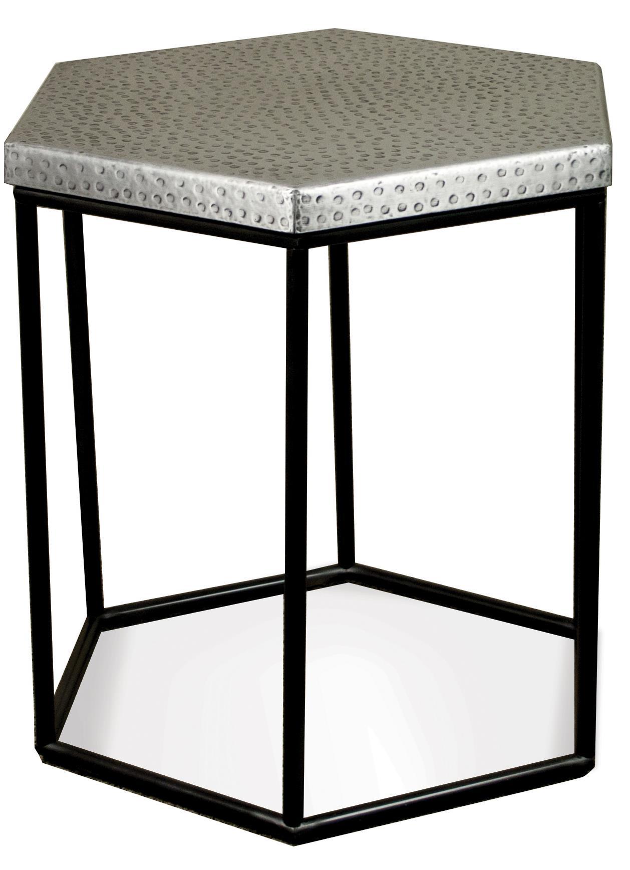 Riverside Furniture LyricHexagon Side Table ...